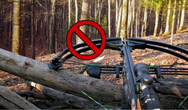Restrictions on Hunting with a Crossbow