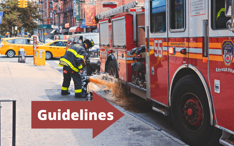 Guidelines for Becoming a Firefighter