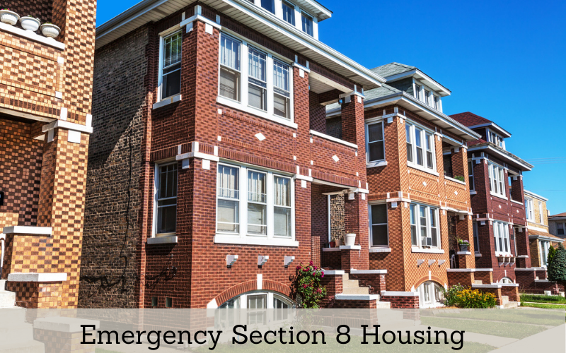Emergency Section 8 Housing