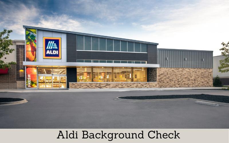 aldi background check