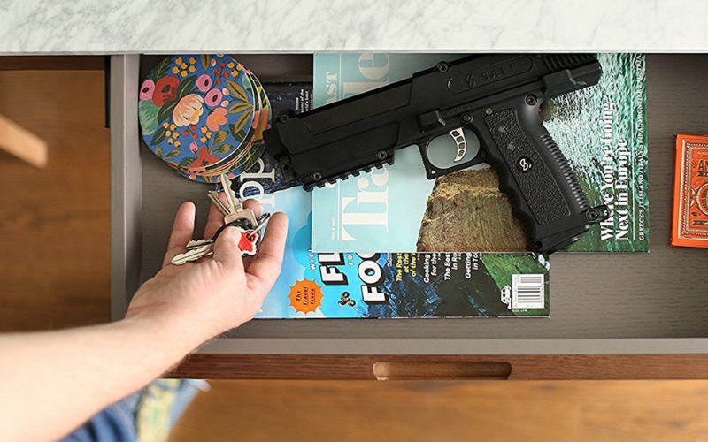 can i own a gun if my husband is felon