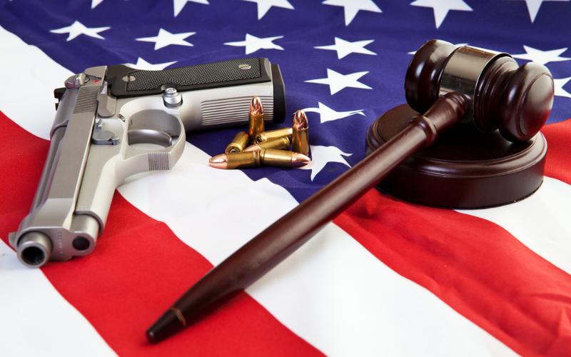 can i own gun if my husband is felon