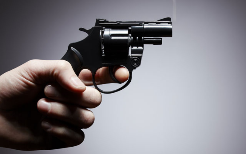 what happens if convicted felon is caught with gun