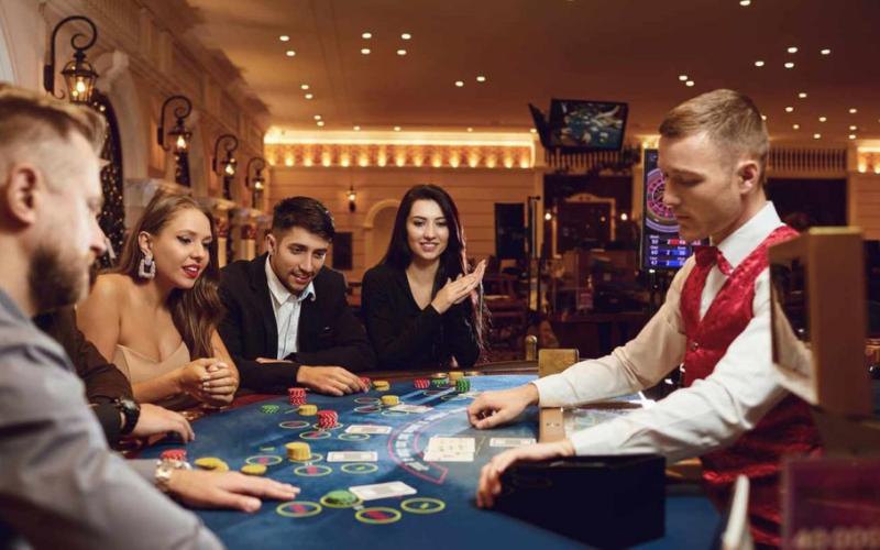 do casinos run background check