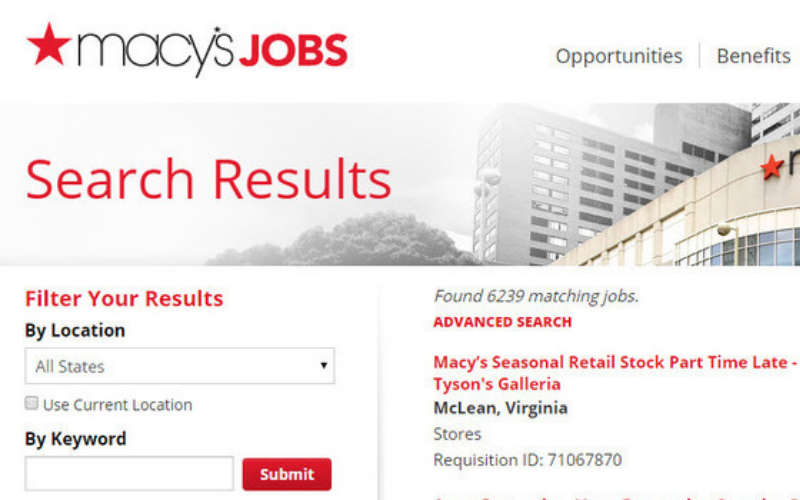 does macys run a background check