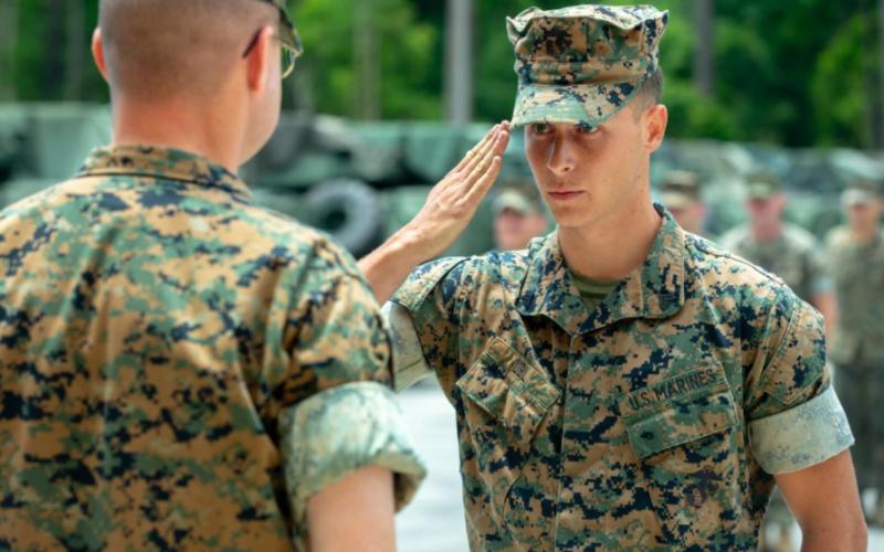 does marine corps accept felon