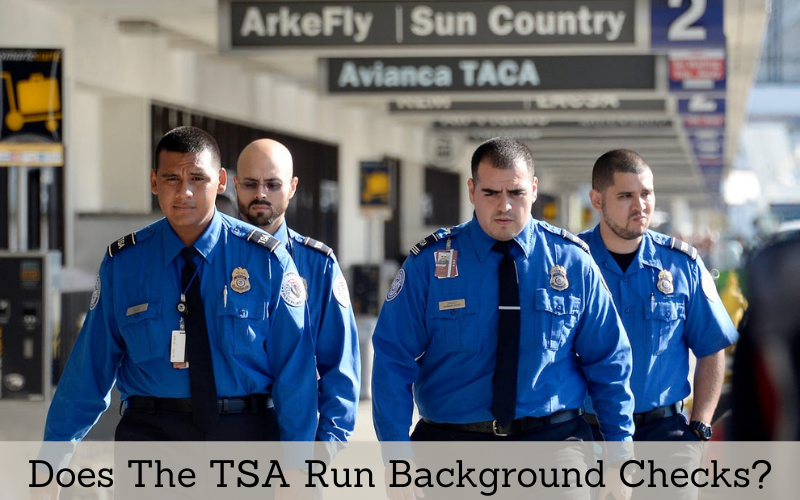 does the tsa run background checks