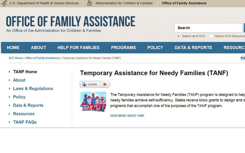emergency housing assistance for a felons