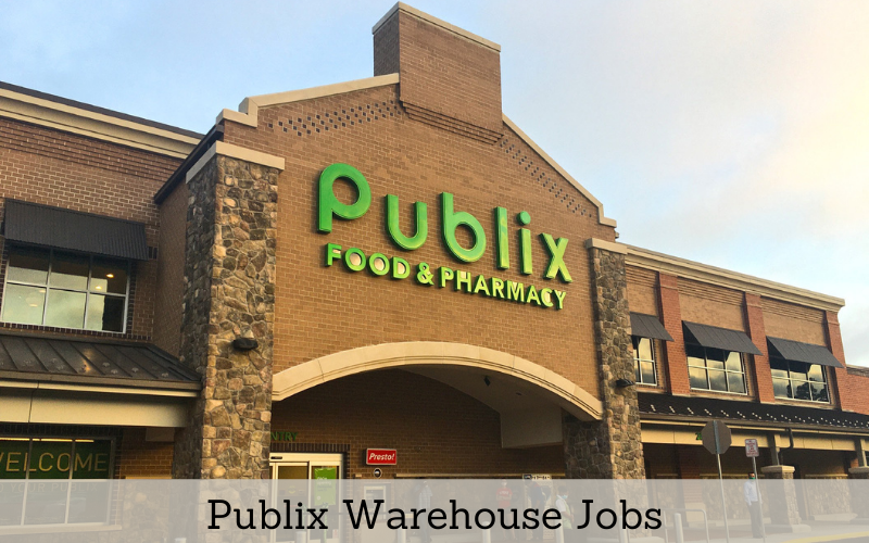 publix warehouse jobs