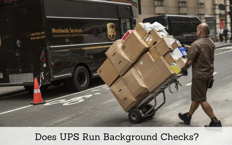 does ups run background checks