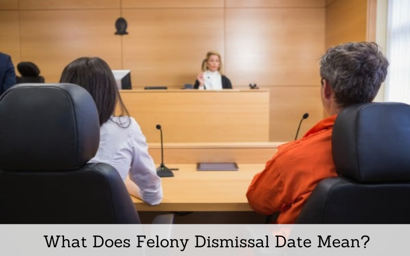 what does felony dismissal date mean