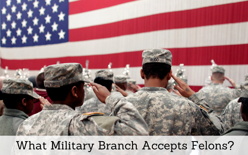 what military branch accepts felons