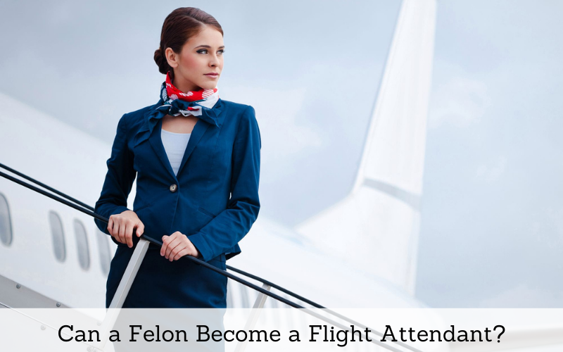 can a felon become a flight attendant