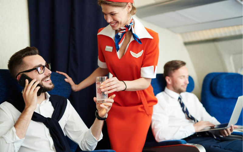 can felon become flight attendant