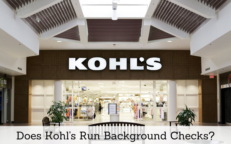 does kohls run background checks