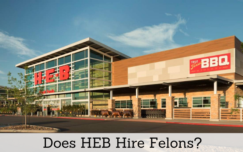 does heb hire felons