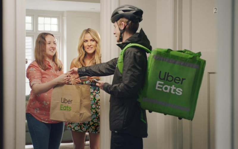 can you pay your cash for ubereats
