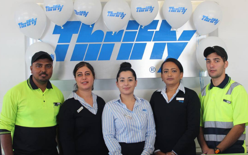 does thrifty car rental hire the felons