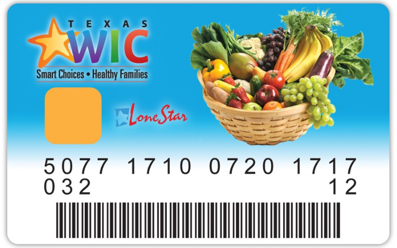 does vons accept the ebt wic cards