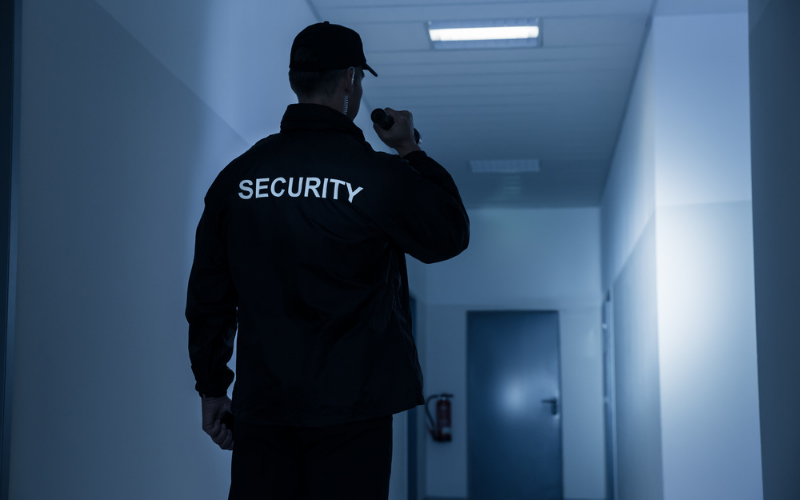 security guard companies that hire the felons