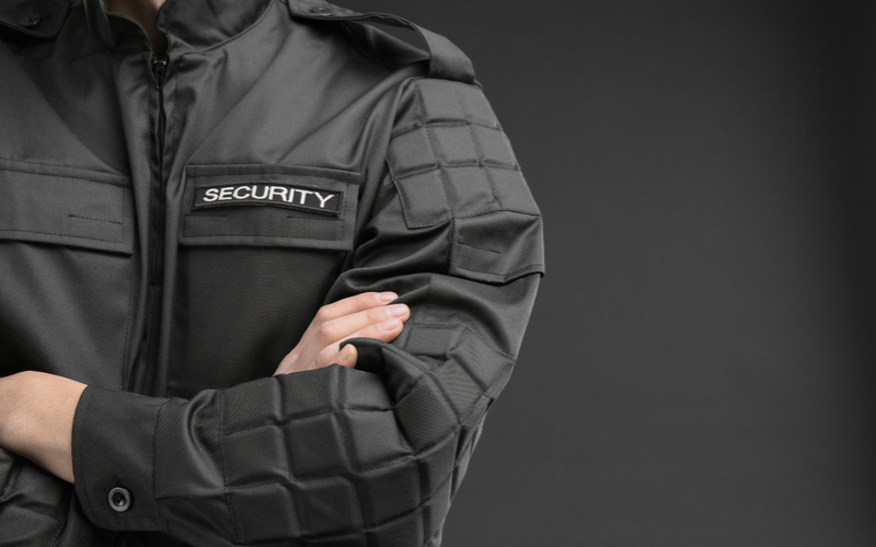 the security guard companies that hire felons